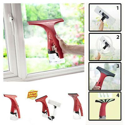 Moss Pro Lithium Power Vac Cordless Rechargeable Glass Window Vacuum Cleaner Kit