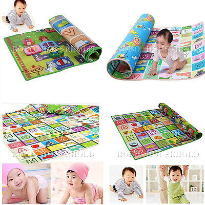 4 Sizes Baby Play Mat Foam Floor Child Activity Soft Toy Gym Creeping Blanket