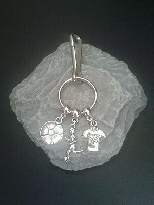 Football Key Ring/Bag charm.