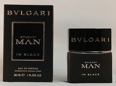 Bvlgari Man In Black 30Ml Eau De Parfum Spray Brand New & Sealed*