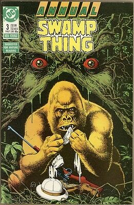 Swamp Thing Annual #3 - FN/VF