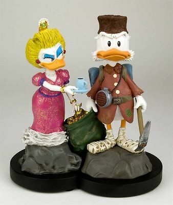 Don Rosa Figuren - Nelly & Dagobert Beide Lim. & Sig. & Drucke