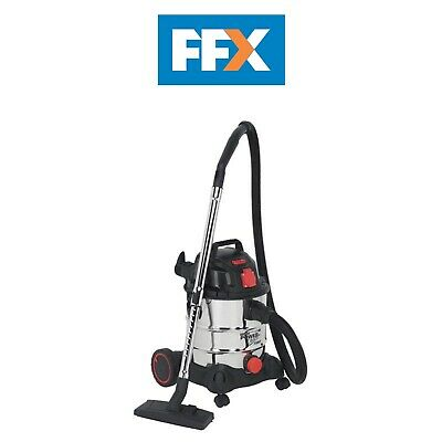 Sealey PC200SDAUTO 230v Vacuum Cleaner Industrial 20ltr Stainless Auto Start