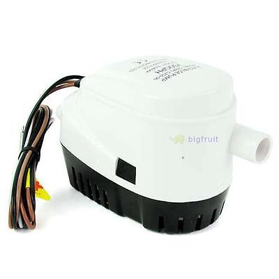 Automatic 12V Bilge Pump 750Gph With Internal Float Switch Auto Water Boat Bf