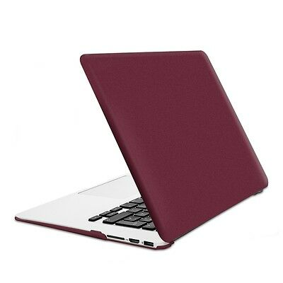 "kwmobile HARD CASE FÜR APPLE MACBOOK AIR 13"" (AB MITTE 2011) ROT METALLIC COVER"