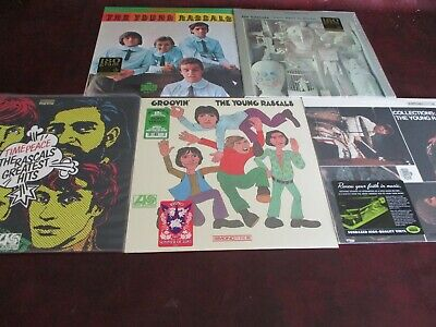 YOUNG RASCALS Collectors 4 AUDIOPHILE 180 GRAM LIMITED EDITION Analog Sealed Set