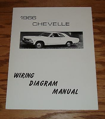 1966 Chevrolet Chevelle Wiring Diagram Manual 66 Chevy