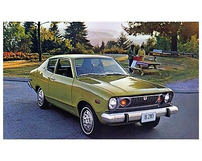 1975 Datsun B210 Factory Photo ca2504