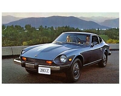 1975 Datsun 280Z Factory Photo ca2513