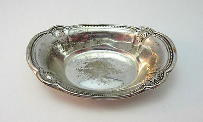 Vintage Sterling Silver Reed Barton H42 Nut Bowl Dish ***
