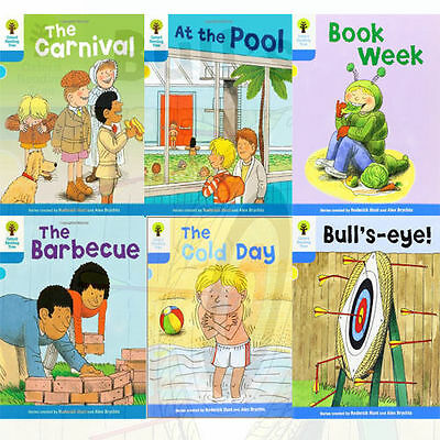 Oxford Reading Tree, Level 3: More Stories B, 6 Books Collection Set (Book Week)