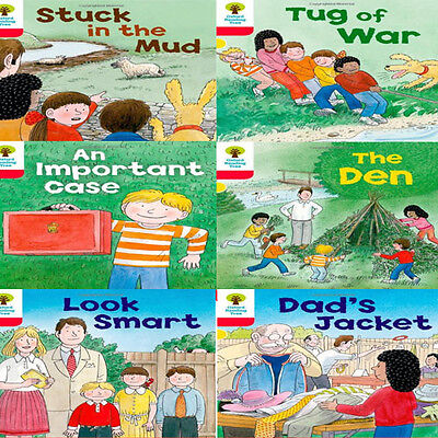 Oxford Reading Tree, Level 4: More Stories C, 6 Books Collection Set (The Den)