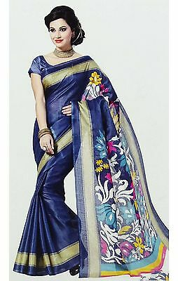 Party Wear Sari Indian Ethnic Designer Bollywood wedding Saree Dress 4456