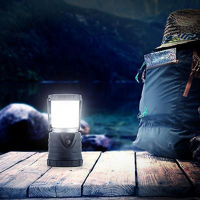 Led Camping Lampe 150 Std Outdoor Laterne Campingleuchte Campinglaterne Schwarz