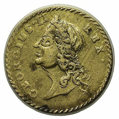 George Ii Guinea Brass Coin Weight