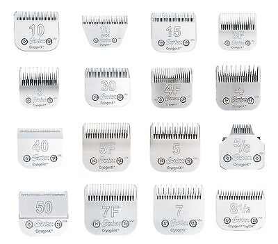 Steel Oster Cryogenx Series Clipper Blades High Quality Dog Grooming Choose Size