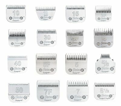Steel Oster Cryogenx Series Clipper Blades - High Quality Dog Grooming Blade Set