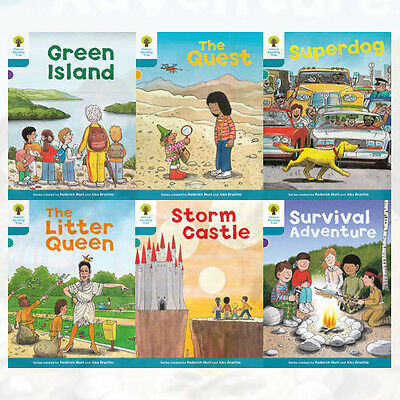 Oxford Reading Tree, Level 9:Stories 6 Books Collection Set(The Little Queen)New