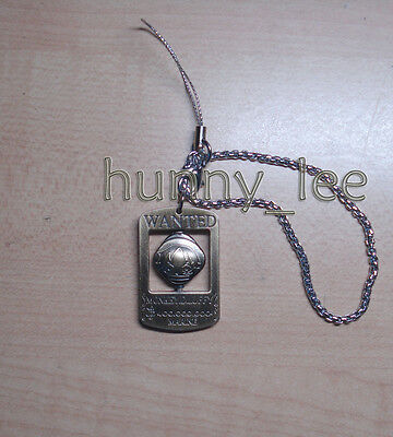 One Piece Luffy Metal Cell Phone Strap Cospaly