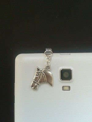 Horse Charm For Mobile Phone. Tablet. Iphone. Ipad. Dust Plug.