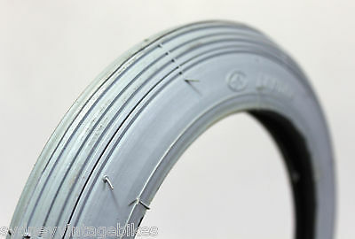 "8 x 1-1/4 "" Inch Tires Wheel Chair Scooter MOBILITY Tyres Grey Pneumatic"