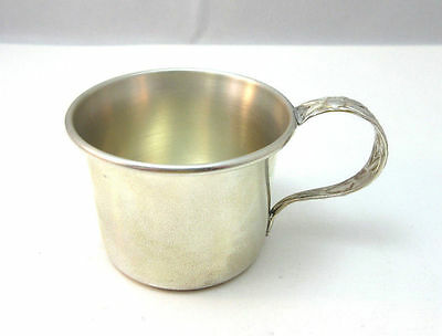 Vintage Sterling Silver Inman Childs Cup ***