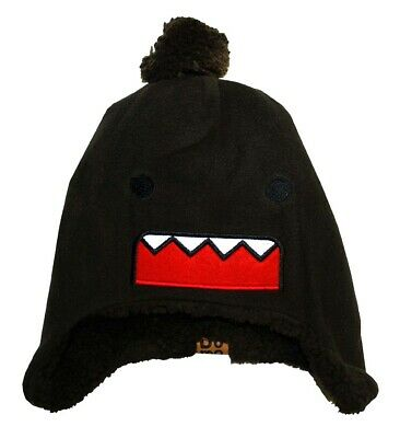 Domo Kun Face Japan Fuzzy Toddler Beanie Hat