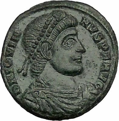 Jovian 363AD Authentic  Ancient Roman Coin Wreath of success Very rare i51155