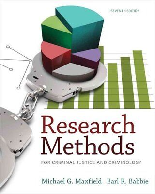 Research Methods for Criminal Justice and Criminology by Earl Babbie, Michael...