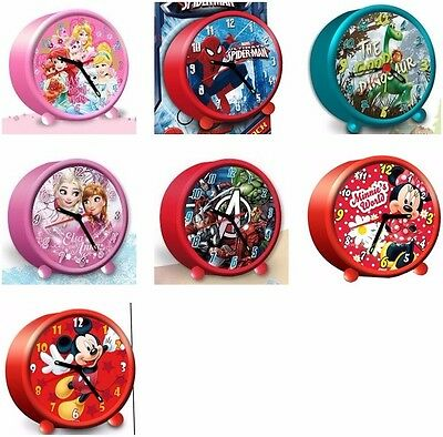 Wecker Kinderwecker Eiskönigin Spiderman Arlo&Spot Avengers Princess Disney Uhr