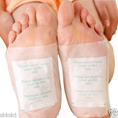 100PC Detox Foot Pads Patch Detoxify Toxins with Adhesive Keeping Fit Health A18