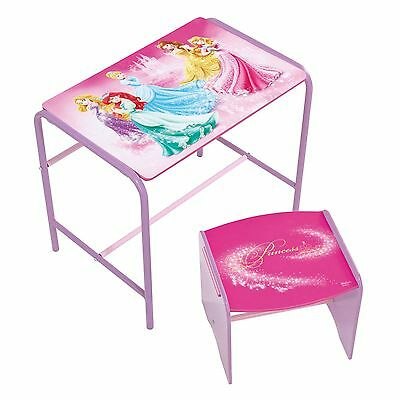 Disney Princess Doodle Desk & Stool Kids Bedroom Furniture