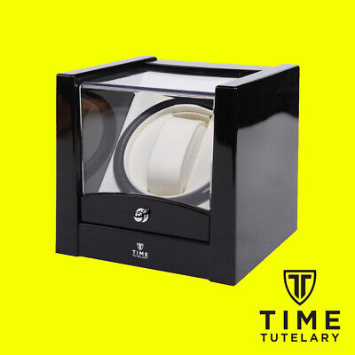 Time Tutelary KA001 Automatic Watch Winder AC Power UK Plug - Black - Brand New