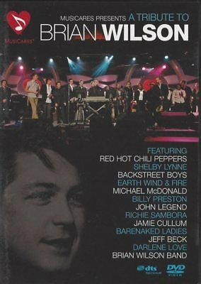 A Tribute to Brian Wilson DVD, Red Hot Chili Peppers, Richie Sambora a.m.m. NEW