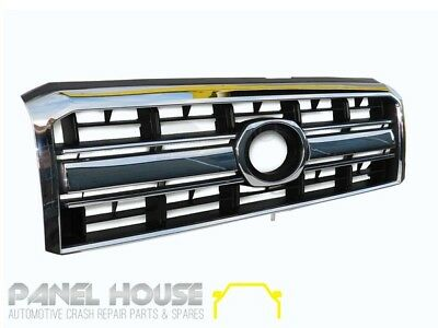 Toyota Landcruiser 70 76 78 79 Series Wagon 07-13 Chrome Grill BRAND NEW Grille