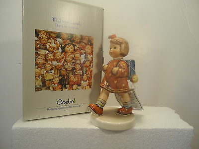 "Hummel - The Kindergartner #467, large 5 1/4"". BRAND NEW in box. rare find!"