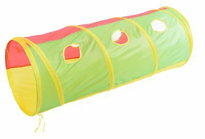 Vinsani Childrens Kids Adventure Pop-Up Indoor Outdoor Play Tunnel