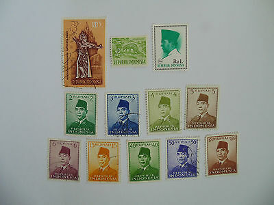 L205 - Collection Of Indonesia Stamps