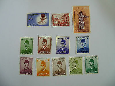 L206 - Collection Of Indonesia Stamps
