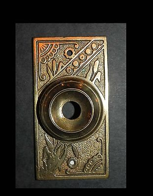 Antique Door Bell Cover In Cast Bronze