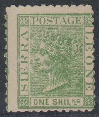 BC SIERRA LEONE 1872 QV Sc 10 UNWATERMARKED FORGERY UNUSED (CV$525)
