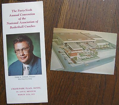 1973 Annual Convention of the National Association of Basketball Coaches Booklet