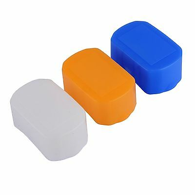 3 Color Soft Cover Flash Bounce Diffuser For Canon 600EX RT Yongnuo YN600EX-RT