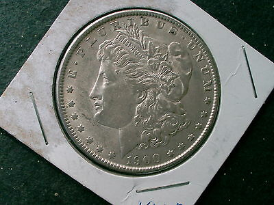 1900 -P  Morgan Silver Dollar 115 Years Old / Part Of U.s. History Nice Dollar