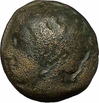 Philip II Alexander the Great Dad OLYMPIC GAMES Ancient Greek Coin Horse i51663