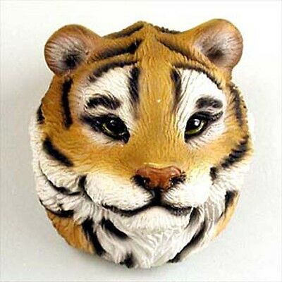 TIGER Head Painted Stone Resin MAGNET