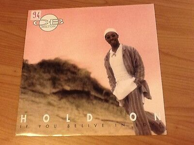 12 Mix Cb Milton Hold On - If You Belive In Love Dwa 01.40 Ex-/ex Italy Ps 1994