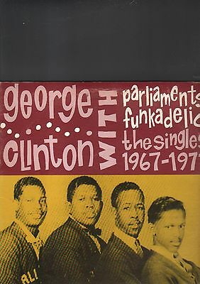 GEORGE CLINTON with parliaments funkadelik  - the singles 1967-1971 LP