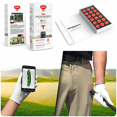 New GAME GOLF Smartphone Shot Tracking System- Android Exclusive Device Tag Set