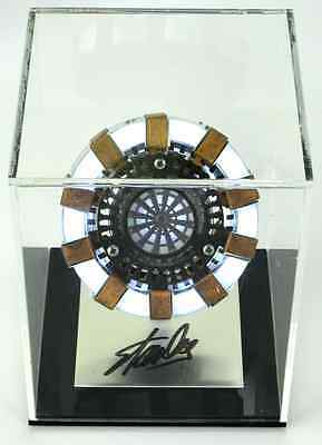 Stan Lee Autographed/Signed Marvel Iron Man Arc Reactor Light-Up Prop in Case